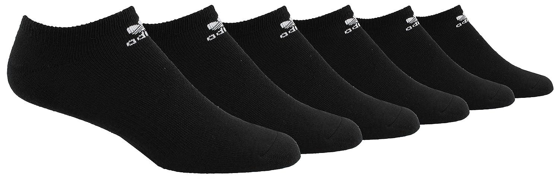 adidas Socks Mens Originals Cushioned 6-Pack No Show Socks