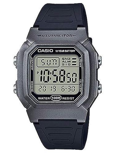 Casio Reloj Digital para Hombre de Cuarzo con Correa en Resina W-800HM-7AVEF: Amazon.es: Relojes