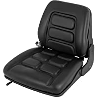 Happybuy Universail Forklift Seat Suspension Seat Vinyl Forklift Suspension Seat Adjustable (3-Stage for Toyota)