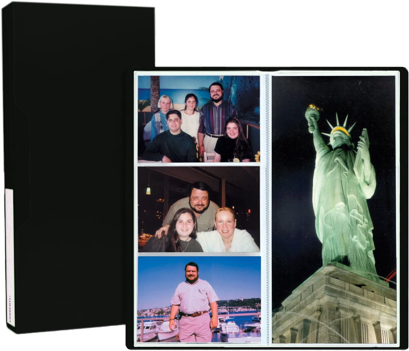 Pioneer Photo Albums CF-3 144-Pocket Poly Cover Space Saver Photo Album Blue