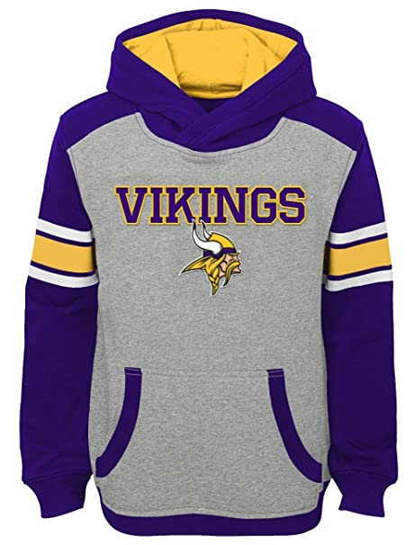 Image Unavailable. Image not available for. Color  Minnesota Vikings Youth  NFL  quot Allegiance quot  Pullover Hooded Sweatshirt ebda8f7e3710