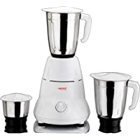 Nevica Stainless Steel Indian Mixer Grinder-3 Jars - 550W, NV-651SS