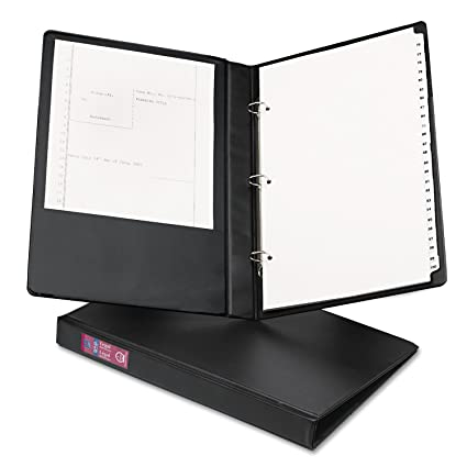 amazon com avery 06400 legal durable non view binder with round