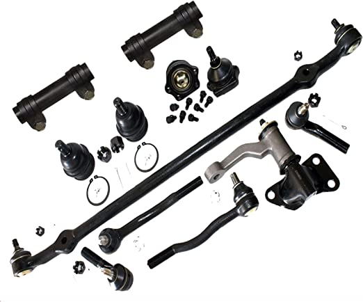 cciyu Front Lower Ball Joint Tie Rod End fit for 1986-1994 Nissan D21 1995-1997 Nissan Pickup 6pcs Suspension Kit