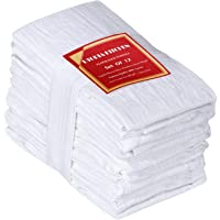 Utopia Kitchen Flour Sack Dish Towels - 100% Pure Ring Spun Cotton Kitchen Towels - Multi-Purpose - Highly Absorbent