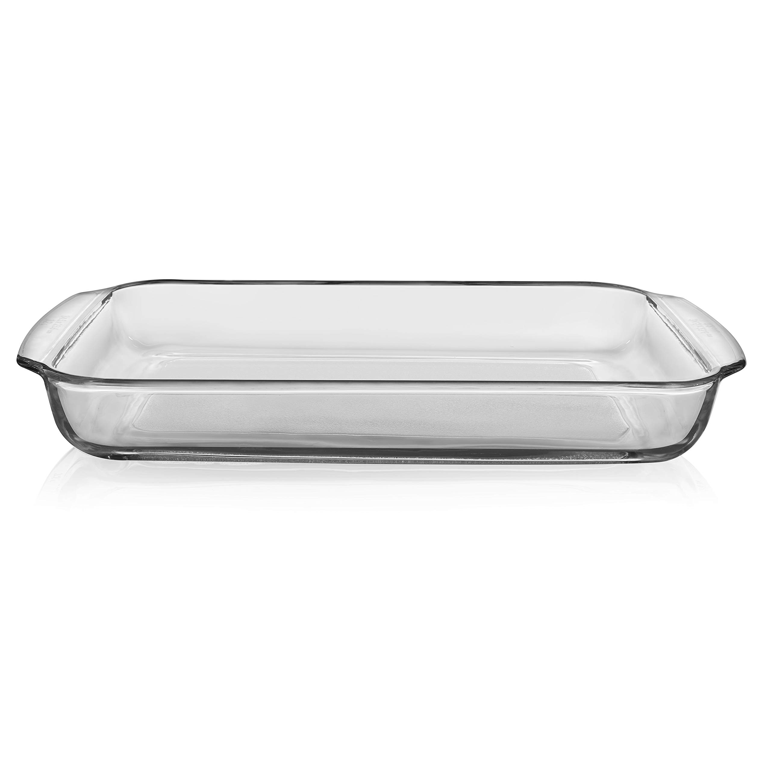 Libbey Baker's Premium 6-Piece Glass Casserole Baking Dish Set with 2 Covers by Libbey (Image #2)
