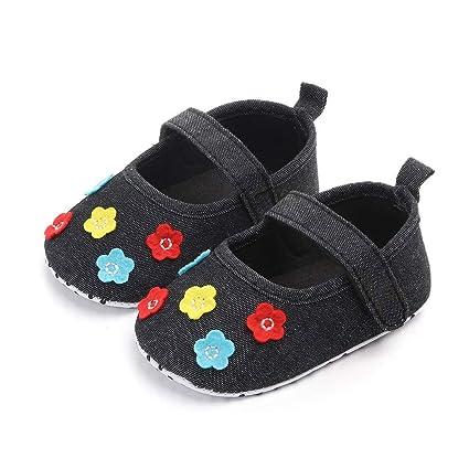 Amazon.com: Zapatillas de paseo para bebés y niñas de 3 a 15 ...