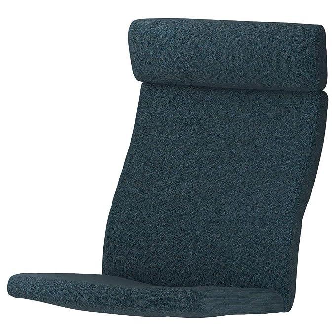 IKEA ASIA POANG - Cojín para sillón, Color Azul Oscuro ...