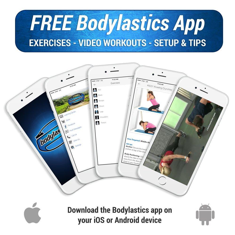 Tensores Bodylastics, Bandas de resistencia con 19 unidades para que puedas entrenar en cualquier lugar por 81€