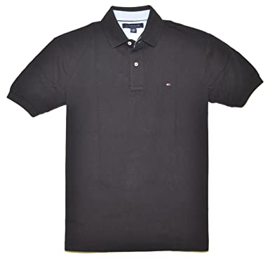 3e8bb24e9cfe7 Image Unavailable. Image not available for. Color  Tommy Hilfiger Classic  Fit Men Polo T-shirt ...
