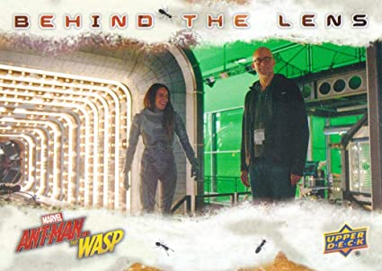 Verzamelkaarten, ruilkaarten 2018 Ant-Man and the Wasp Behind-the-Lens Inserts #BTL13 Ghost Direction