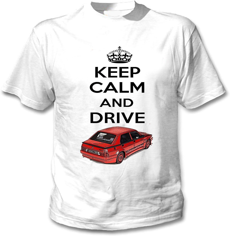 TEESANDENGINES Alfa Romeo 75 Turbo Evoluzione Inspired Keep Calm ...