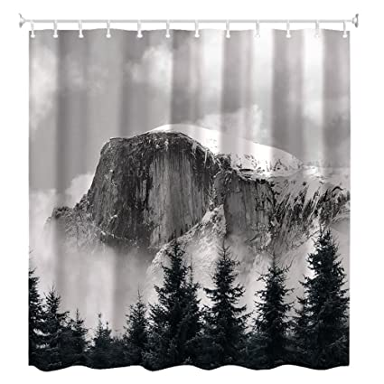 ZBLX CaliforniaYosemite National Park Polyester Shower Curtain60 X 72quot