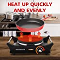"Techwood 7.5"" Hot Plate Portable Electric Stove"