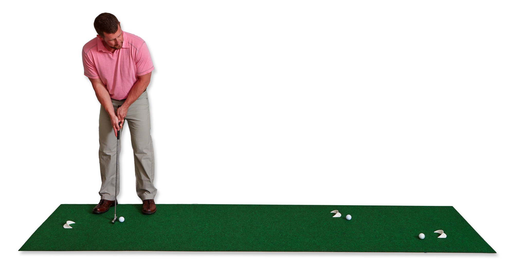 Putt-A-Bout Golf Putting Mat, 3 x 11-Feet, Green by Putt-A-Bout
