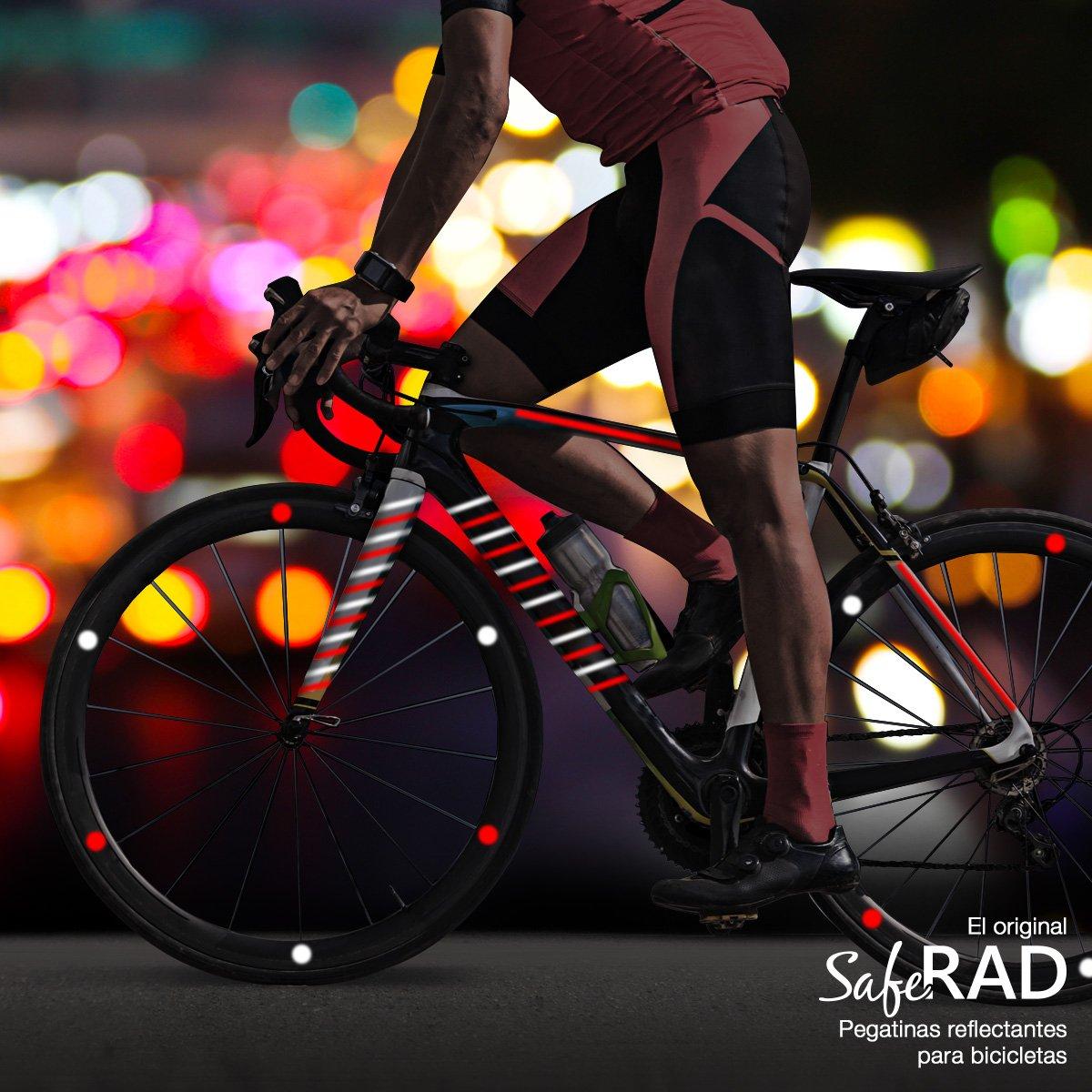 Pegatinas reflectantes para bicicletas
