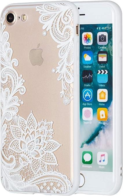 custodia iphone 8 bianca