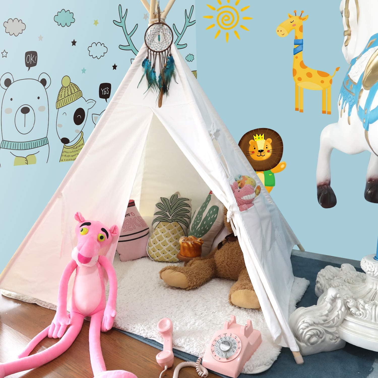 Top 15 Best Kids Teepee Tents (2020 Reviews & Buying Guide) 13