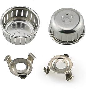 HJ Garden 2 Sets Electric Pressure Cooker Accessories Clog-Resistant Cover Block-Resistant Shield Replacement for Instant Pot, Crock-Pot, Cuisinart, Farberware, Ninja, NuWave, Power Pressure Cooker X