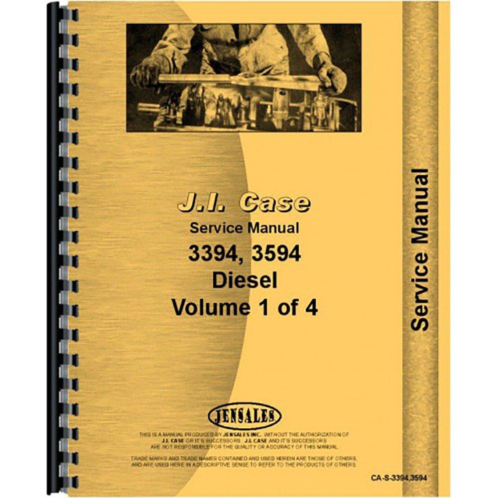 Amazon.com: New Case 3594 Tractor Service Manual: Industrial & Scientific