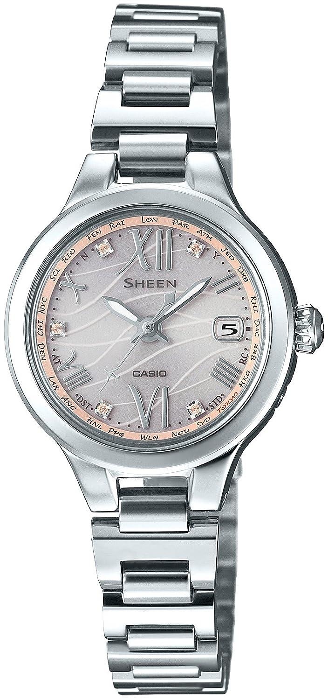 0265d6f0bc Amazon | [カシオ]CASIO 腕時計 シーン 電波ソーラー SHW-1700CD-4AJF レディース | 国内メーカー | 腕時計 通販