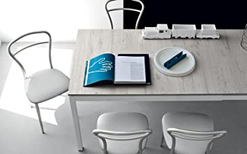 Extensible Table Calligaris Nobilitato Plan Avec Connubia Snap By xhCQtdsr