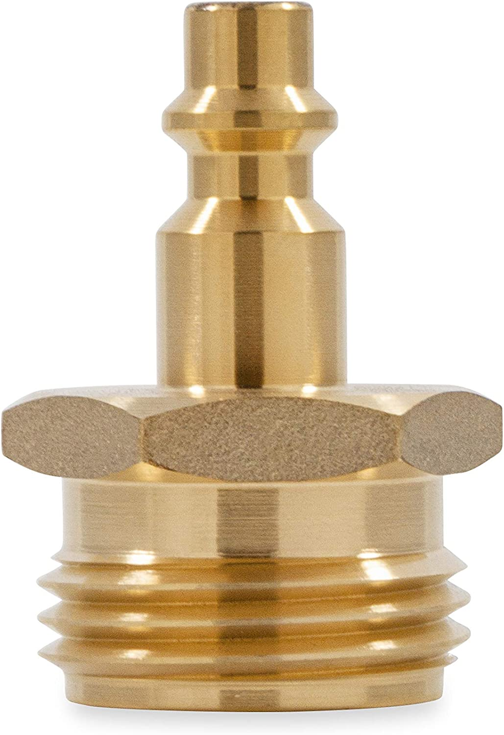 Camco Blow Out Plug With Brass Quick Connect-Aids In Removal of Water From Water Lines (36143): Automotive