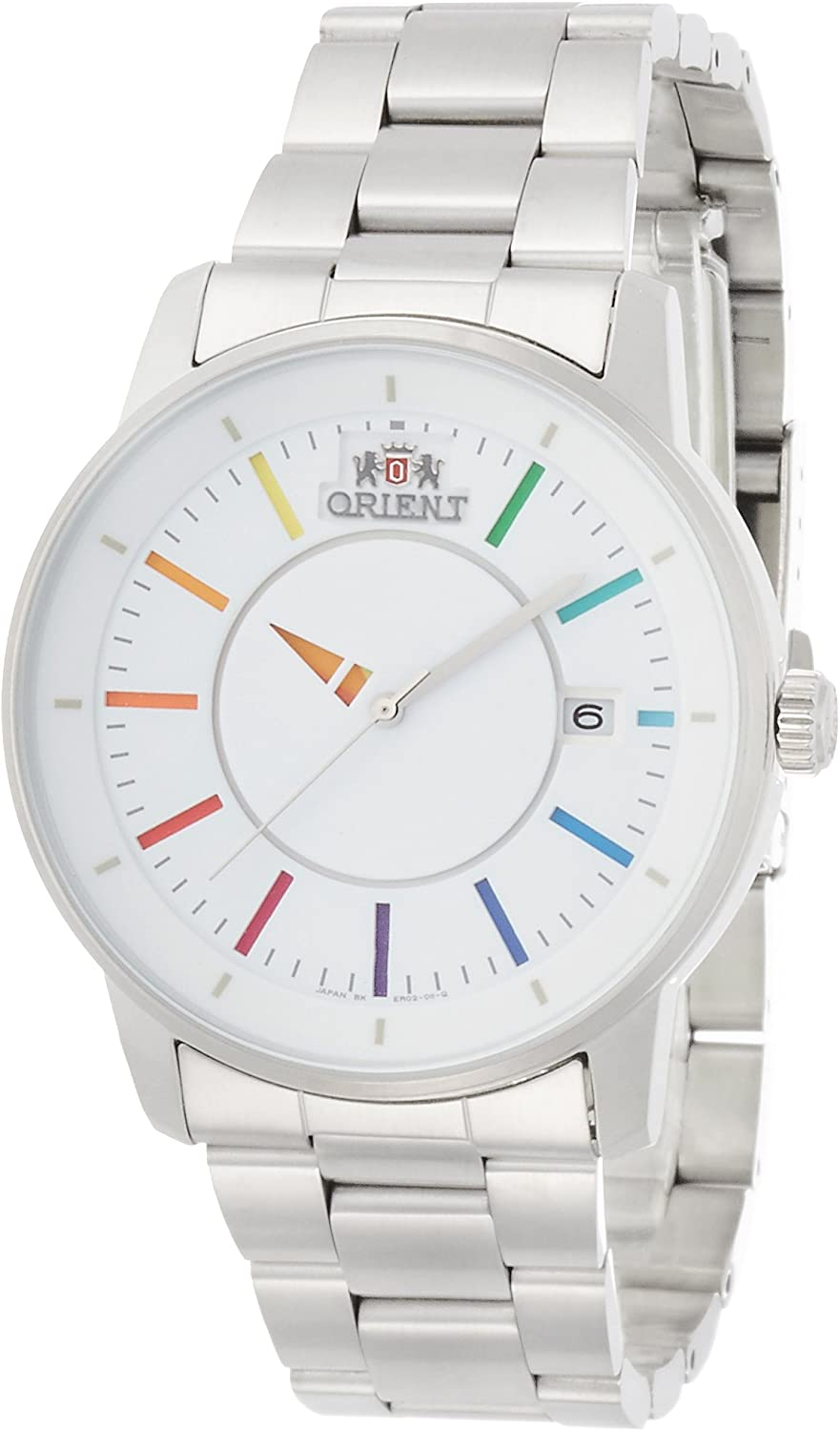 [Orient] Orient Watch Stylish and Smart Stylish and Smart Disk Disk White Rainbow Self-winding Wv0821er Men