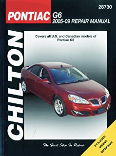 pontiac g6 2005 2009 haynes repair manual haynes 9781563927829 rh amazon com 2006 Pontiac G6 Radiator Diagram 07 Pontiac G6 Wiring-Diagram