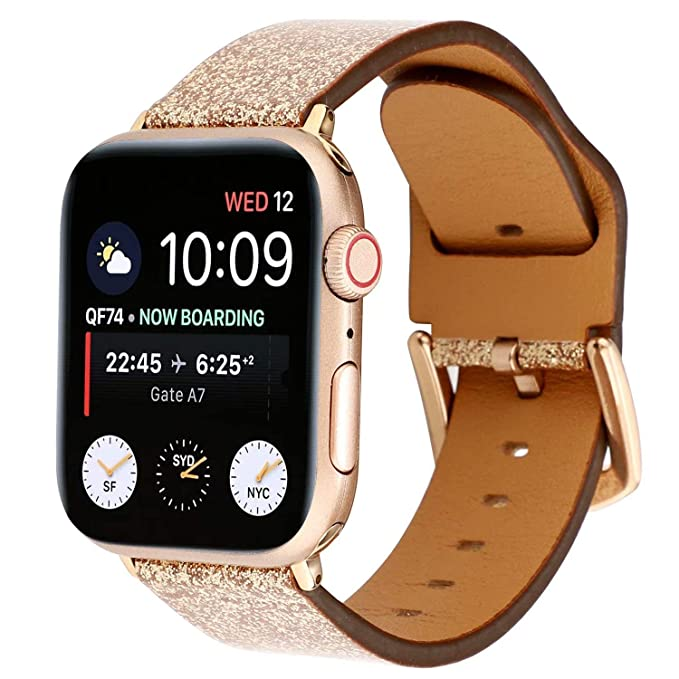 Amazon.com: Compatible with Apple Watch Band 38mm 40mm 42mm ...