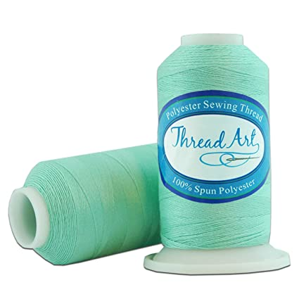 Amazoncom Polyester Sewing Thread 600m Color 370 Mint Green
