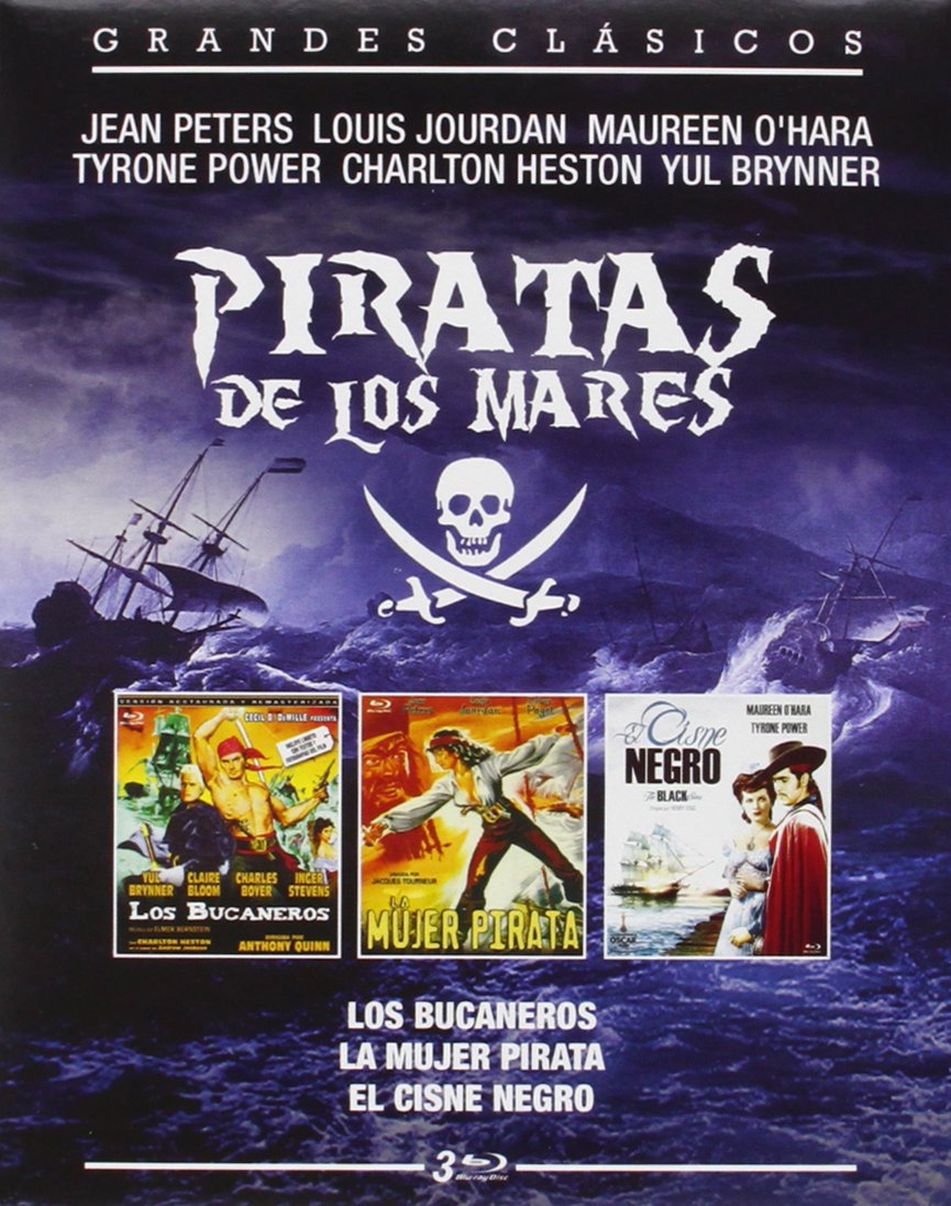 Pack Piratas De Los Mares [Blu-ray]: Amazon.es: Yul Brynner ...