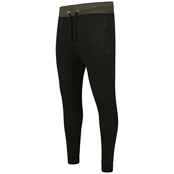 8a8b30cbc921 Geeney Mens Slim Fit Tracksuit Bottoms