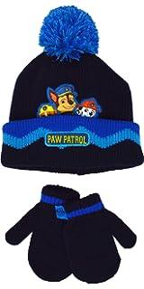 Kids Hey Duggee Winter Beanie Hat and Mitten Gloves 2-Piece Set