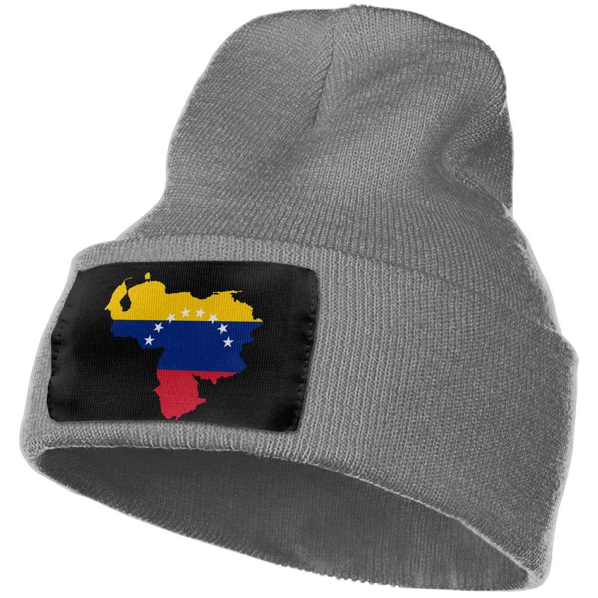 SLADDD1 Flag of Venezuela Warm Winter Hat Knit Beanie Skull Cap Cuff Beanie Hat Winter Hats for Men /& Women