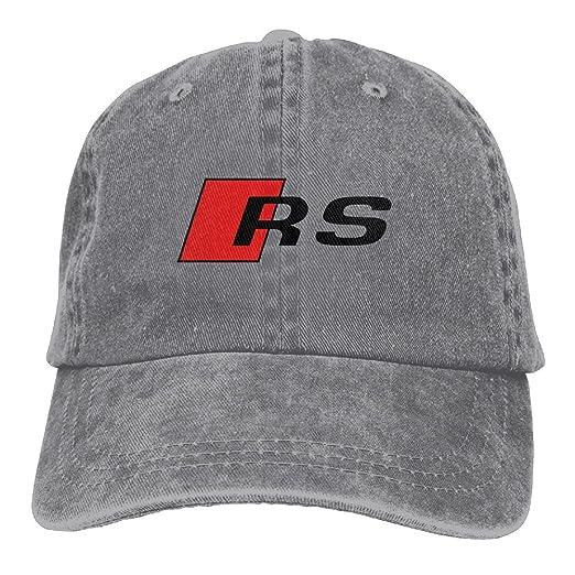 a9229f792f0 SumiDom Rs-Sport-Logo Unisex Adult Baseball Cap Trucker Hat Cowboy Hat Hip  Hop Sports Snapback at Amazon Men s Clothing store