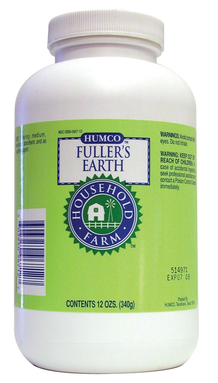 Humco 0967-12 Fullers Earth en polvo, 12 onzas