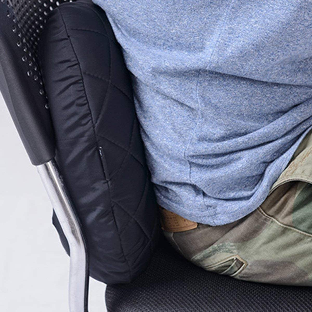 Fgdjfh Oreiller de Voyage de Camping Gonflable Portable /épaissir taie doreiller Confortable et Chaud taie doreiller Anti-salet/é Anti-poussi/ère-Noir