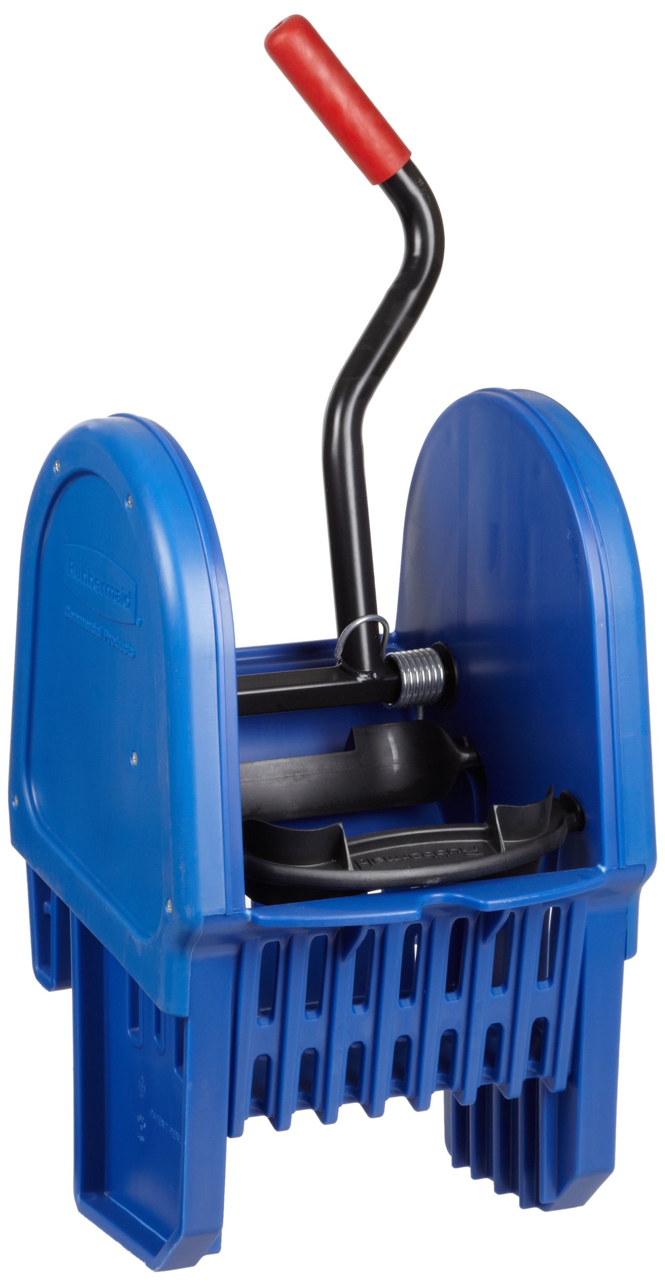 Rubbermaid Commercial FG757588BLUE Down Press Wringer for WaveBrake Buckets, 16 - 32-Ounce Capacity, Blue by Rubbermaid Commercial Products (Image #1)