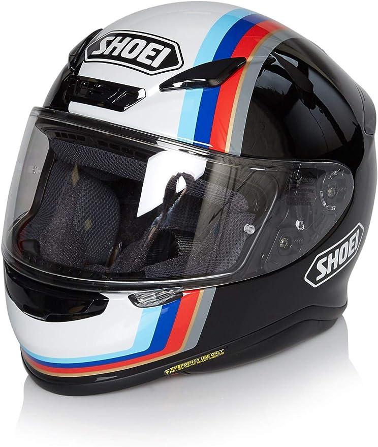 Shoei Nxr Recounter Helmet Tc 10 Black White Blue Red Xl Auto
