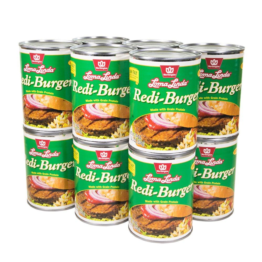 Loma Linda - Vegan - Redi-Burger (19 oz.) (Pack of 12) - Kosher