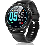CanMixs Smart Watch for Android Phones iOS, Fitness Tracker with Heart Rate Sleep Monitor Waterproof Smart Watches for Men Wo