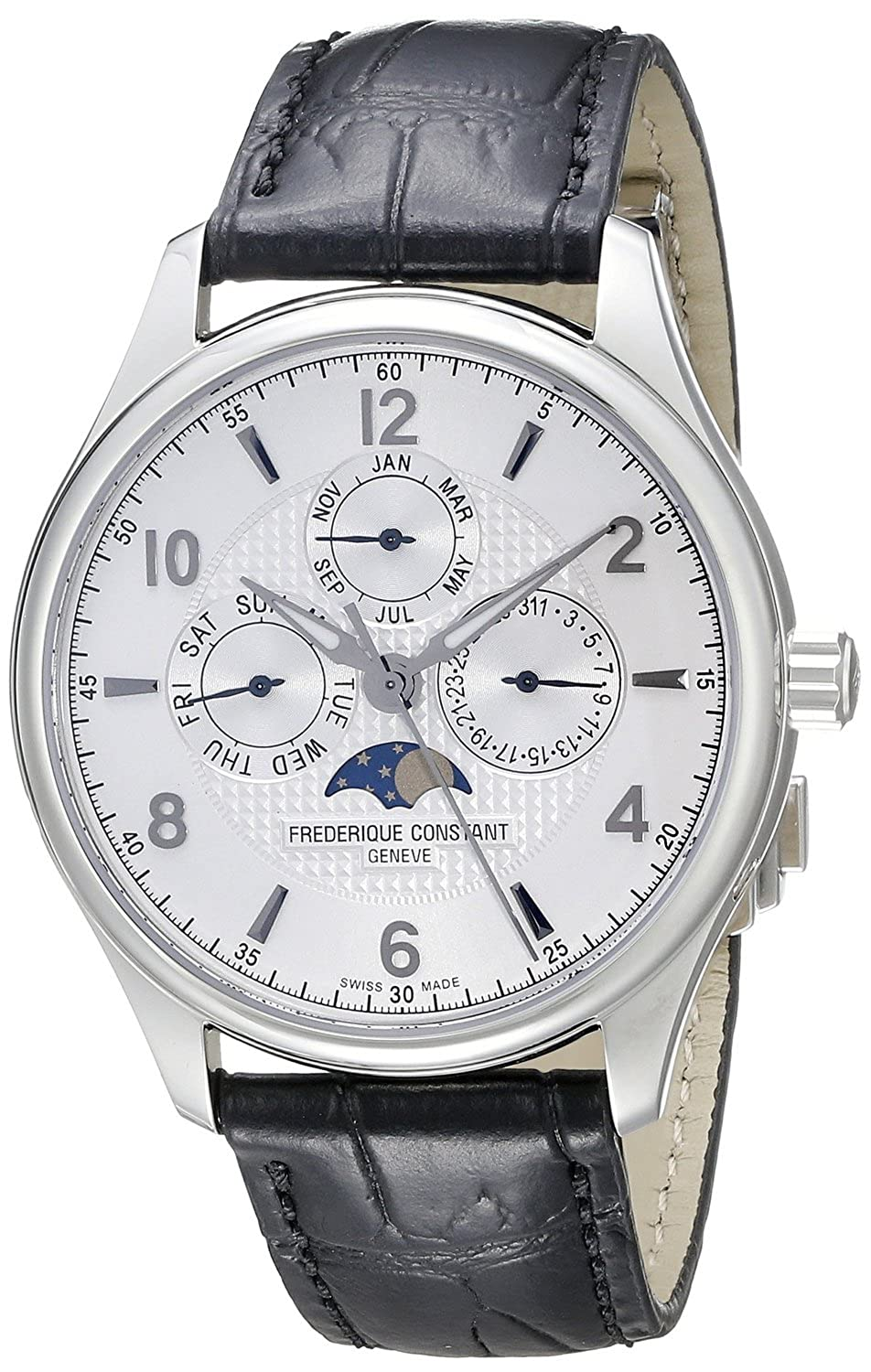 フレデリックコンスタント Frederique Constant Men's FC365RM5B6 Runabout Analog Display Swiss Automatic Black Watch [並行輸入品] B01B97R8RK