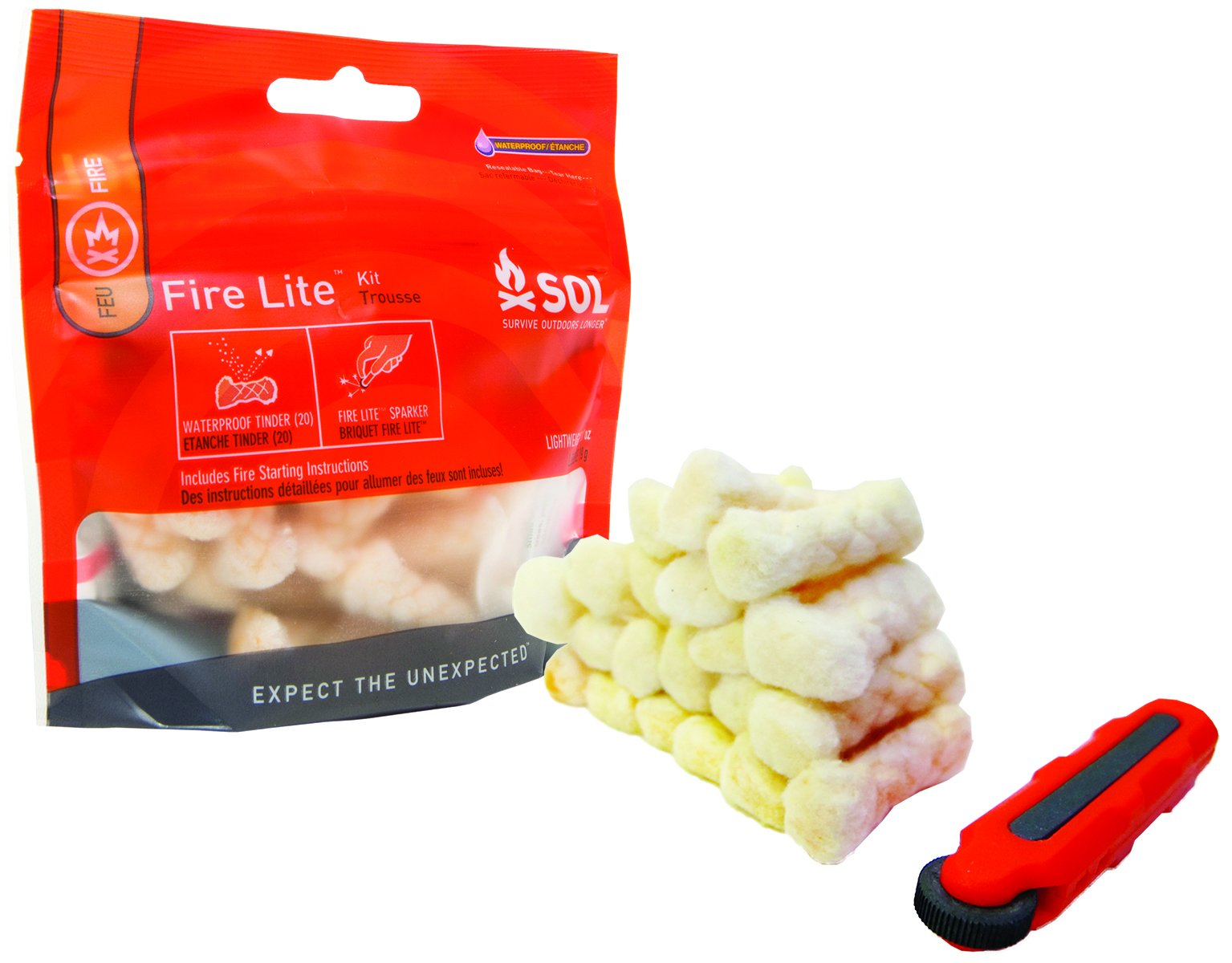 S.O.L. Survive Outdoors Longer Fire Lite Kit