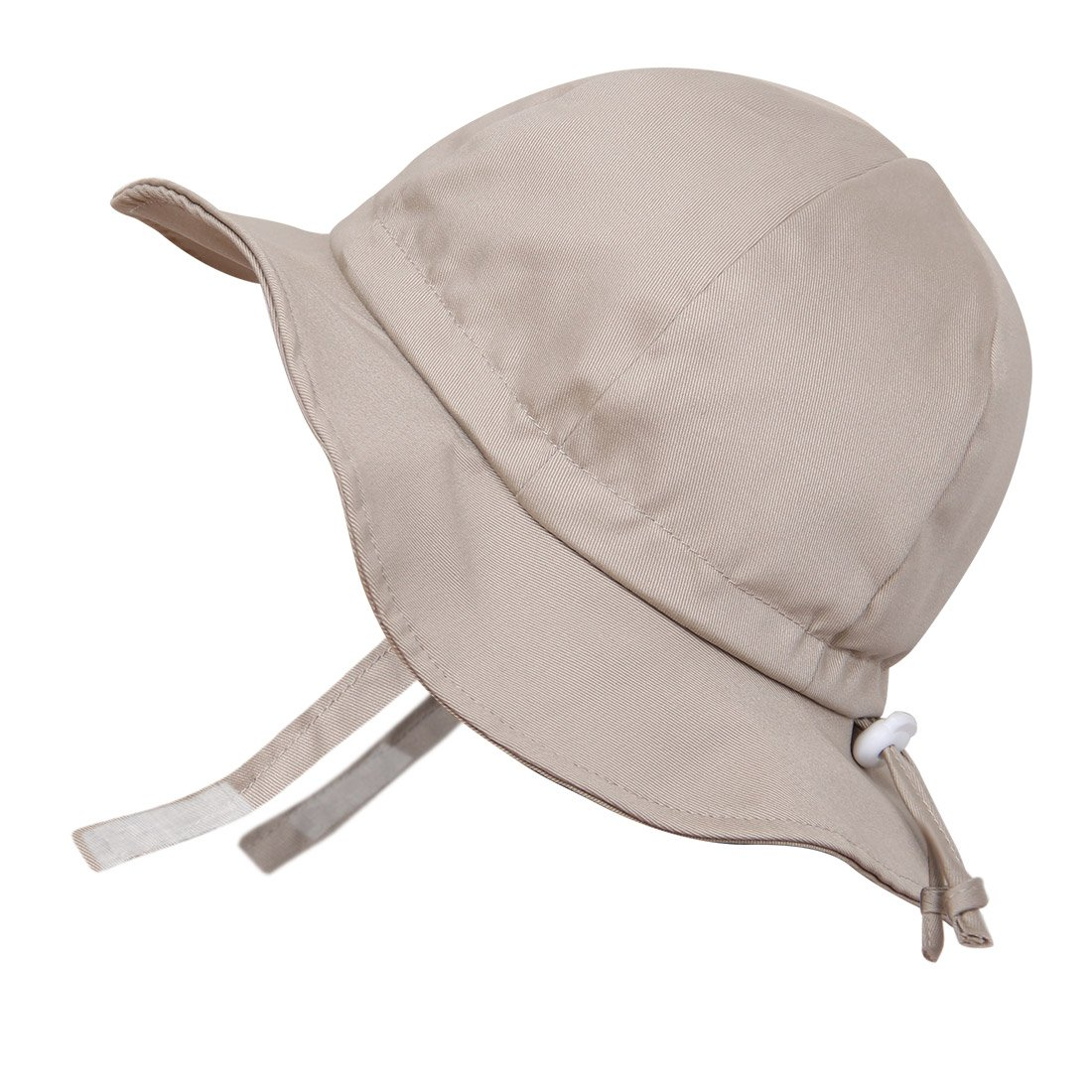 Kids 50+ UPF Sun Protection Hat, Size Adjustable Breathable With Chin Strap(L: 3Y - 12Y, Grey argyle) Twinklebelle 15-42L