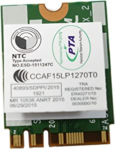 Dell XPS 13 9350 BCM94350ZAE DW1820A WiFi WLAN+Bluetooth Wireless-AC Card 8PKF4