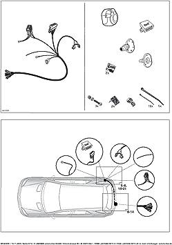 Jaeger 21040512 Elektrosatz Anhängevorrichtung Auto