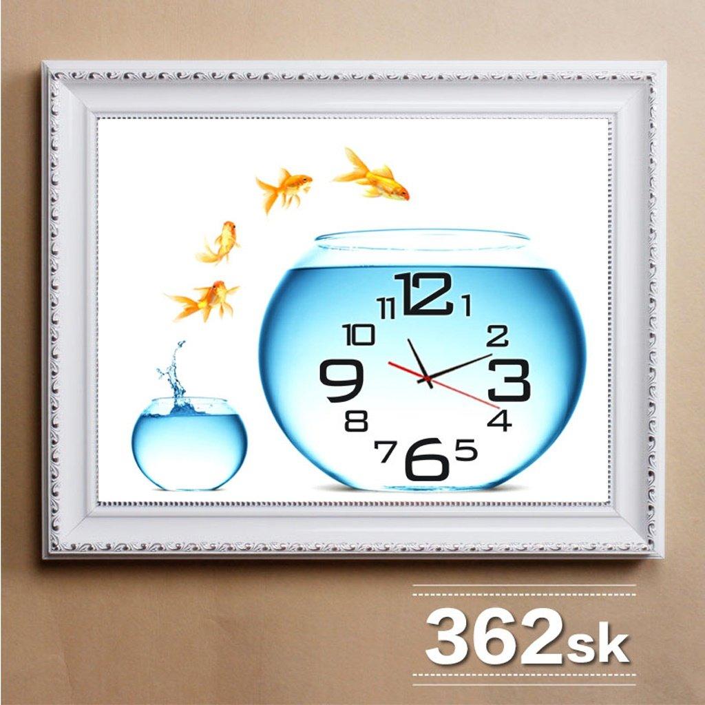 エッジが来る ウォールクロック リビングルームレストラン装飾的な絵画、北欧の箱の絵画、絵画の壁画 ( サイズ さいず : 50*40cm (in 40*30cm) ) B07BS8M5RB 50*40cm (in 40*30cm) 50*40cm (in 40*30cm)