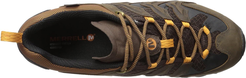Merrell Mens Chameleon Shift Ventilator Waterproof Bitter Root Sneaker 12 M