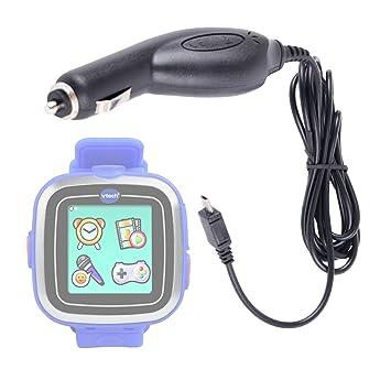 DURAGADGET Chargeur de voiture allume-cigare pour montre connectée Vtech Kidizoom Smart Watch et Smart